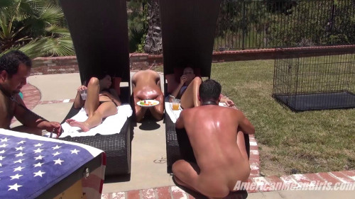 Femdom and Strapon Mean Girl Pool Party (1080 HD)