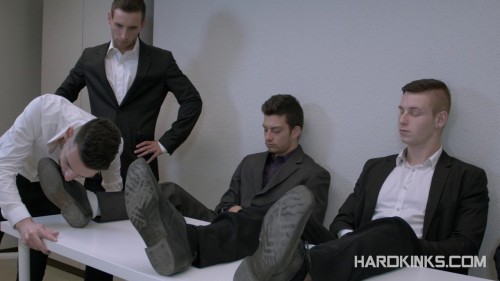 Gay BDSM Fifty Shades Of Tyler (Abel Bunker , Eloy Fox , Ricky Ruiz , Tyler Roding)