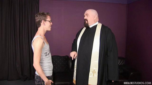 Gay BDSM Naughty Altar Boy