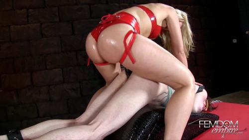 Femdom and Strapon Anikka Albrite - Big Black Cock Anal Wreckage