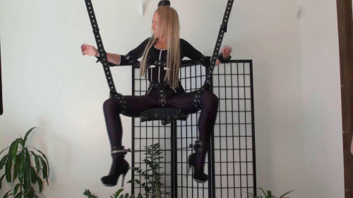 bdsm Katya - Bondage Tickle Trapeze