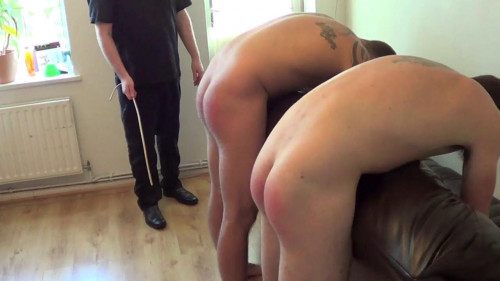Gay BDSM Birthday Spanking - Andy and Patrick