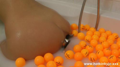 Fisting and Dildo Bath Huge Anal Gape And Ball Games (2016)