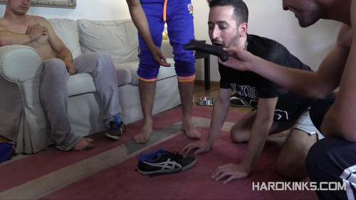 Gay BDSM Str8 Bullies vs Neighbor (Abel Bunker, Eloy Fox, Javi Roma)