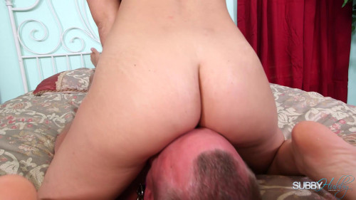 Femdom and Strapon Paulinas Pet Husband - Ass licker