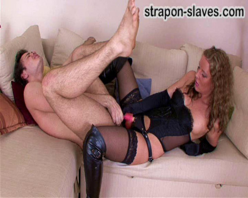 Femdom and Strapon Mistress Tanya part 2
