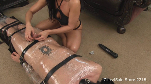 Femdom and Strapon Cum Dripping Compilation 1