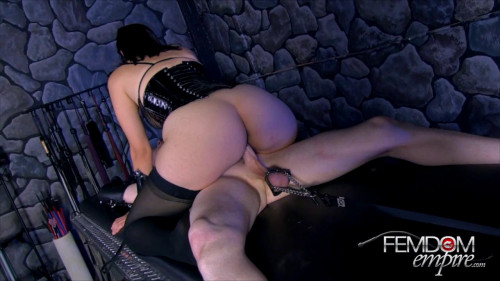 Femdom and Strapon Kimberly Kane - Cock Toy