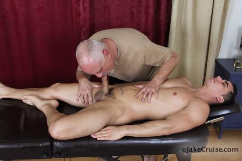 Topher DiMaggio Massaged