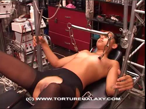 bdsm Brunette Hard Pussy And Tits Torture Part Two