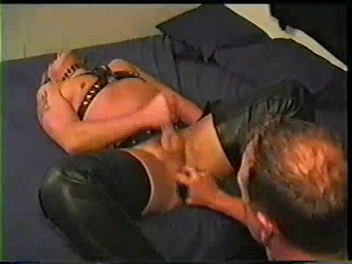 Gay BDSM Big Tease--Stonie Learns A Lesson