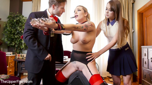bdsm Tax Day The Slave and The Bad Girls Anal Punishment
