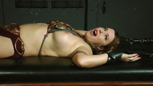 bdsm The Perils of Princess LEIA - Stretched to the max