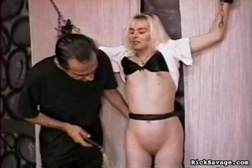 bdsm Bondage Virgin Blondie