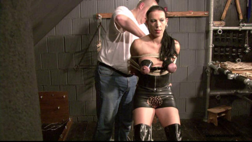 bdsm Slave Eva in the Dungeon Again