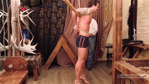 Gay BDSM Captured Repairman - Final Part