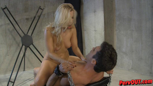 Femdom and Strapon Ashley Fires - Edged Sex Slave Training