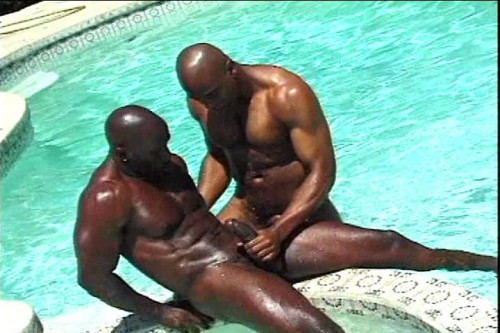 Hard Nubians in the Pool