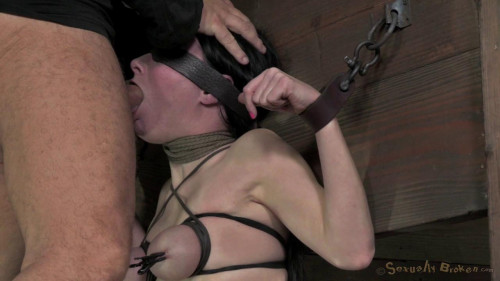 bdsm Veruca James shackled and chained