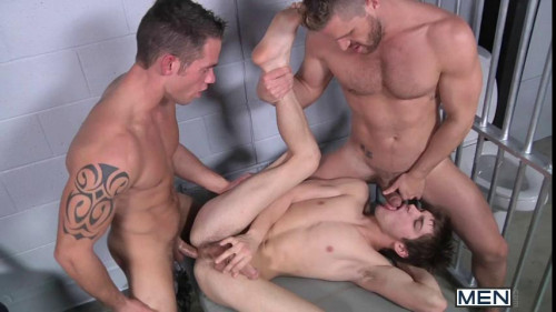 Prison Shower 4