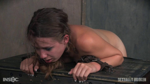 bdsm Zoey Lane is destroyed by massive hard pounding cock in bondage.