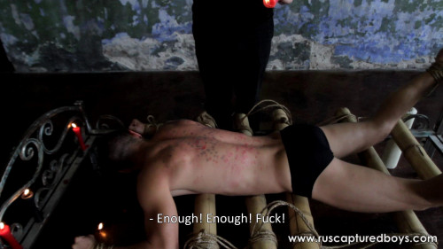 Gay BDSM A New Captive From Shibari Maestro - II