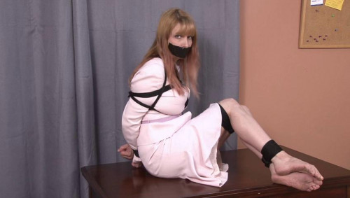bdsm Bound and Gagged - Hogtied LadyBoss - Lorelei Barefoot and Bound