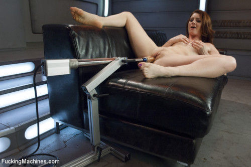 Sex Machines Cici shows us the power of her orgasms from assand pussy FuckingMachines