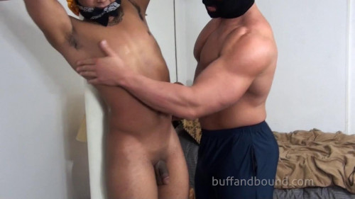 Gay BDSM BuffAndBound Gino Bound Stripped and Absed