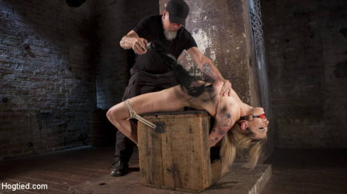 bdsm Dahlia Sky Submits to Punishing Bondage and Torment