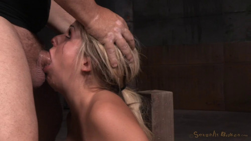 bdsm Sexy Blonde Madelyn Monroe Restrained