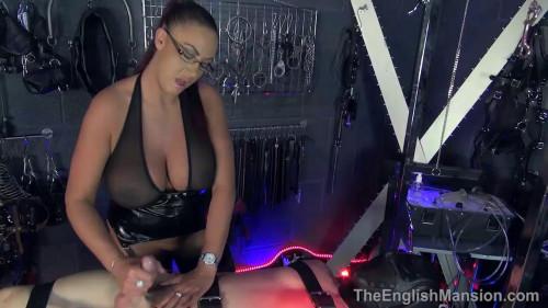 Femdom and Strapon Bondage Handjob (2016)