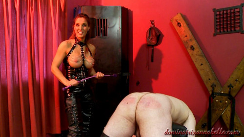 Femdom and Strapon slave scene 15 part 1