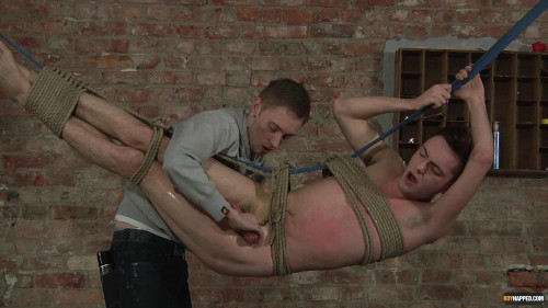 Gay BDSM Sexy Jonah Cock Drained