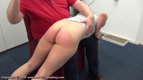 bdsm Iveys first spanking