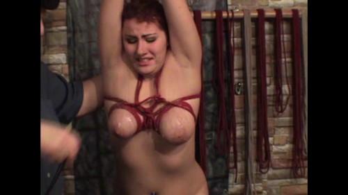 bdsm Hot wax for Elizabeth