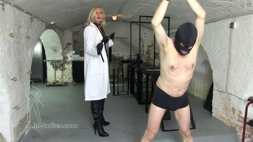 Femdom and Strapon Akella The Slave Clinic