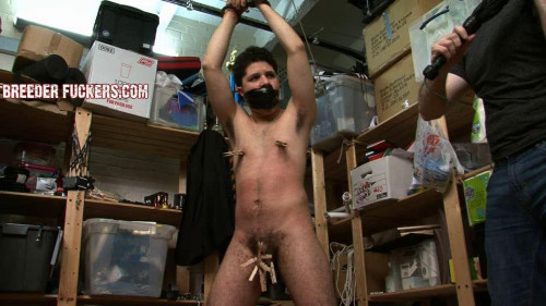 Gay BDSM Charlie scene 1