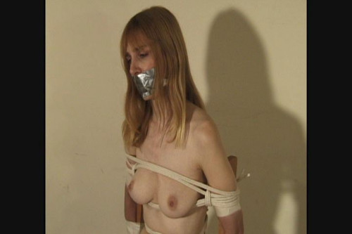 bdsm Bound and Gagged - Ropey Chair Tie - Lorelei and Jon Woods