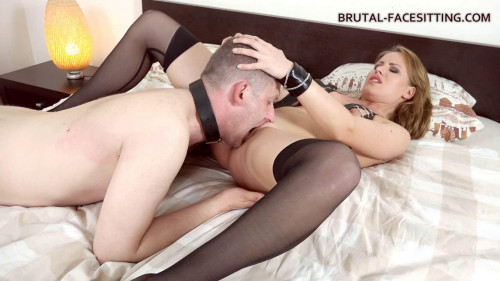 Femdom and Strapon Goddess In Stockings