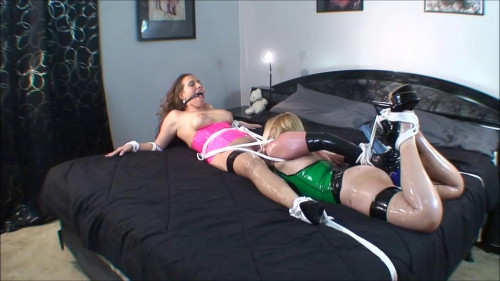 bdsm Samantha Grace and Whitney Morgan Bound to Cum Together - HD720p