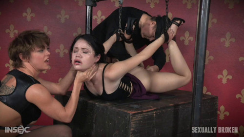 bdsm Face Fucked and Vibrated to Orgasm