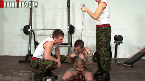 Gay BDSM Brutal Tops - Training