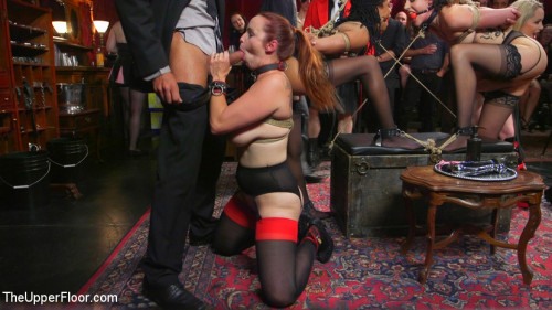 bdsm A Slave Orgy Like No Other