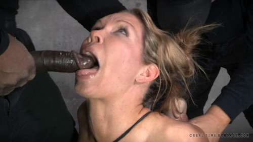 bdsm Rain DeGrey used hard and rough in all three holes