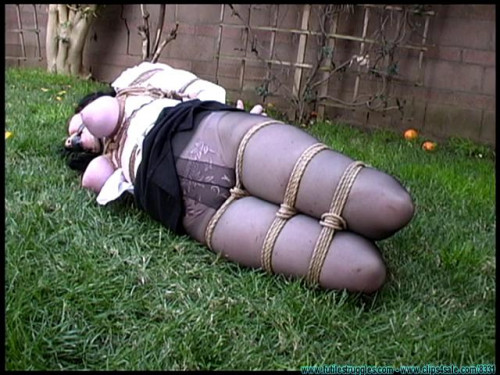 bdsm FS - Backyard Bondage Fun with Sybil - Part 2