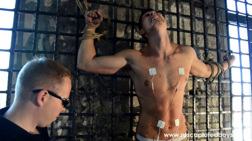 Gay BDSM RusCapturedBoys - New Slave Yaroslav 3