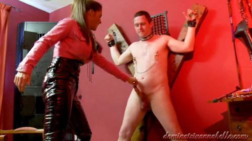Femdom and Strapon slave scene 12 part 2