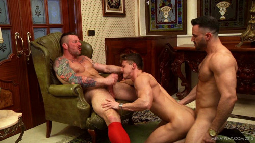 MenAtPlay 2 To 1 Darius Ferdynand Flex Hugh Hunter