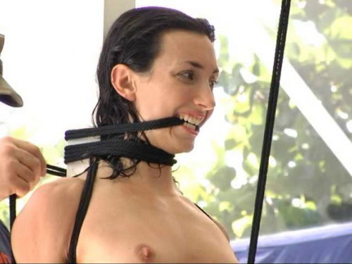 bdsm Punished Poolside